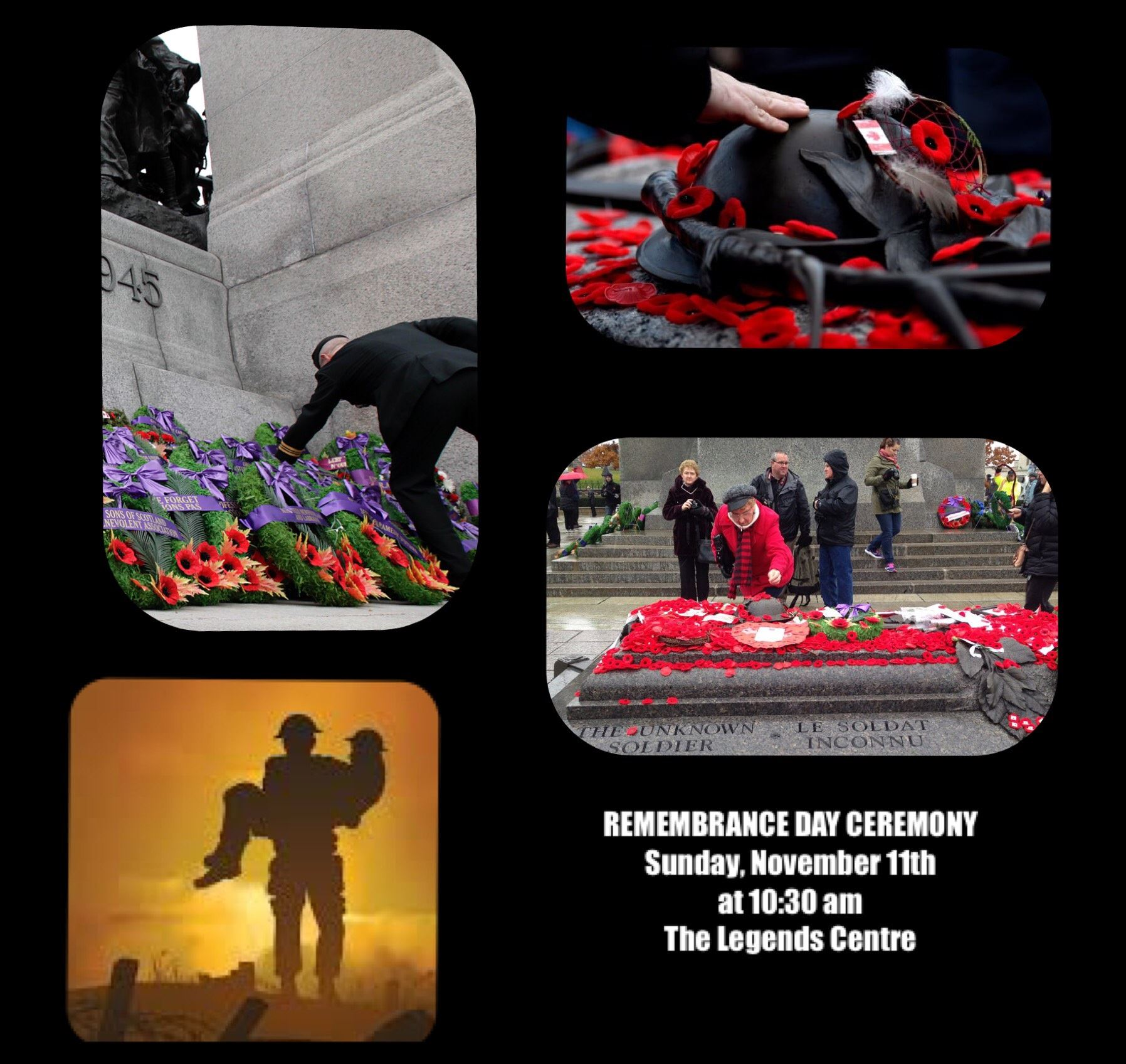 Remembrance Day Collage