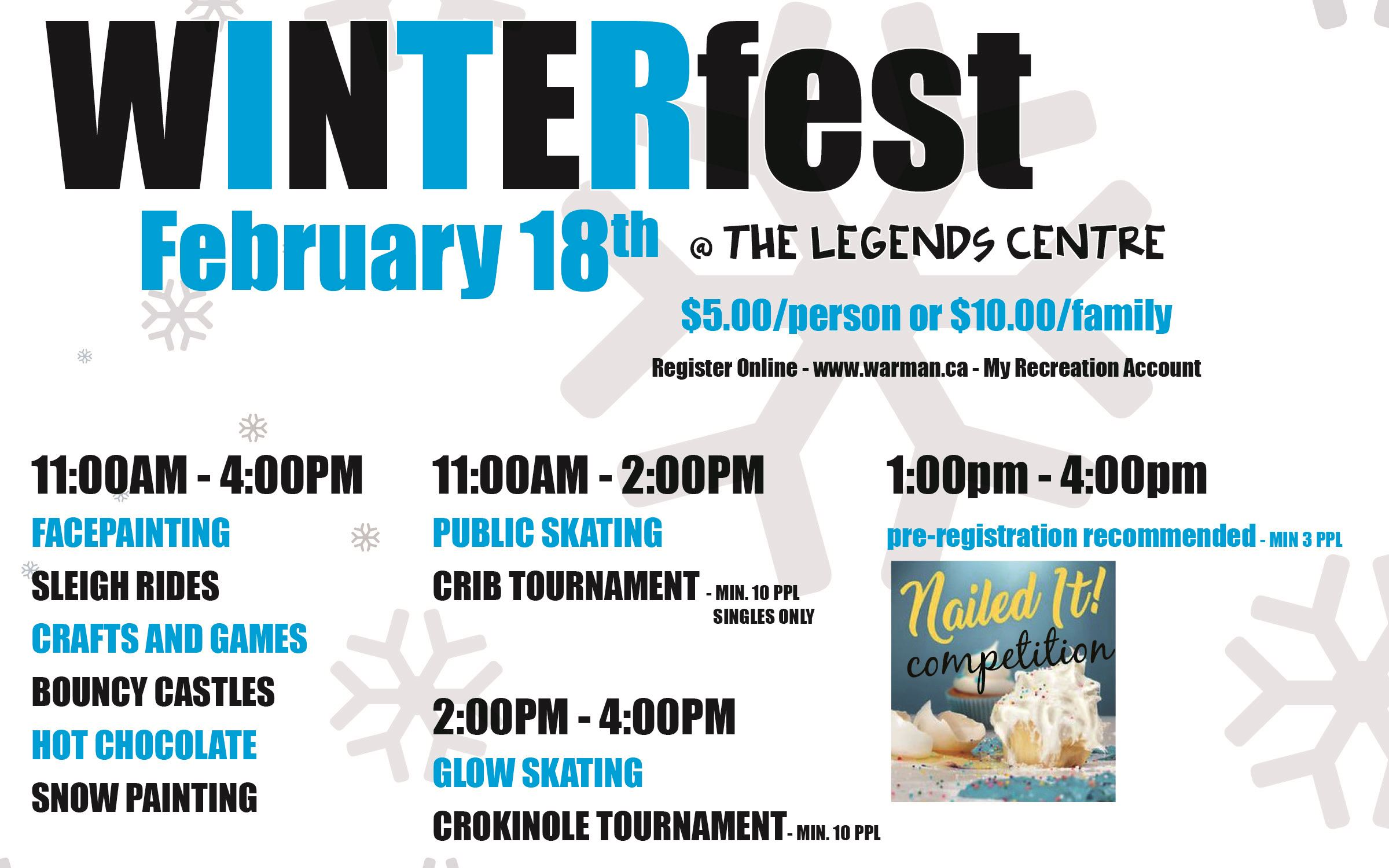 Winterfest In Motion Day 2019 - half page