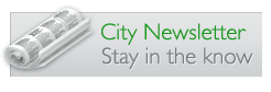 City Newsletter - Stay in the know